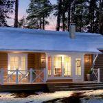 Blockhaus von Honka Mini, Tiny House, Outdoor Decor, Home Decor, Tiny Houses, Interior Design, Home Interior Design, Home Decoration, Decoration Home