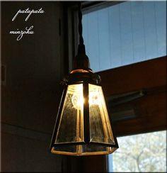 Lamp Shade 六角シェードランプパタミンアンティーク インテリア 雑貨 家具 Antique ¥6330yen 〆07月11日