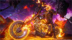Ghost Rider Bike, Ghost Rider 2007, Ghost Rider Marvel, Marvel Comics Art, Marvel Vs, Captain Marvel, Gost Rider, Ghost Rider Johnny Blaze, Ghost Rider Wallpaper