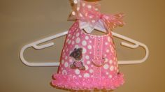 Tiny Yorkie Girly Girl - Specialy printed Yorkie fabric made into this adorable Yorkie harness / vest / dress.  Lined in pink and white seersucker.  Size XS available for immediate ship.  Also available in Maltese print.  $34
