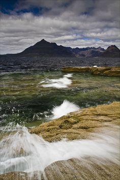 Elgol beach, Isle of Skye, Scotland