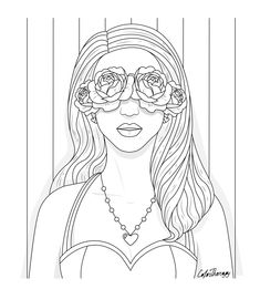 People Coloring Pages, Blank Coloring Pages, Coloring Apps, Coloring Books, Colouring Sheets, Barbie Coloring, Printable Coloring Sheets, Disney Art, Art Sketches