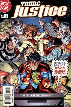 YOUNG JUSTICE #31, DC COMICS, 2.001, USA