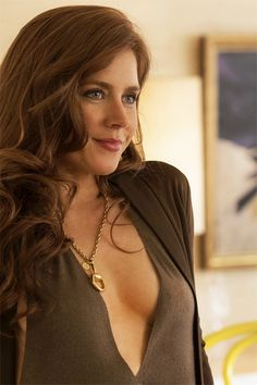 There's just something about Amy Adams that does it for me. Even in a movie with Jennifer Lawrence she's captivating.