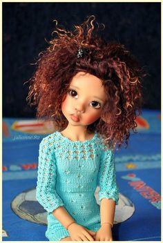 Моя Laryssa tan от Kaye Wiggs / Куклы Кайе Виггз, Kaye Wiggs dolls / Бэйбики. Куклы фото. Одежда для кукол
