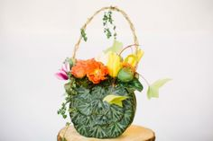 floral purse, photo by Ashley Largesse