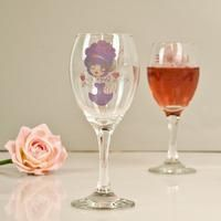 ClaireaBella Purple Glitz Wine Glass: Item number: 3453090067 Currency: GBP Price: GBP12.99