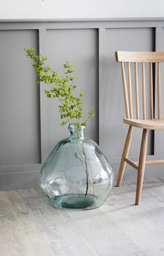 Beautifully hand blown from 100% Recycled Glass the Wells Bubble Vase will become the focal point of every room.   Crafted in Spain using 100% Recycled Glass Colouring and exact dimensions may vary due to the organic nature of this product Decor, Bubble Glass, Large Glass Vase, House Color Schemes, Recycled Glass Vases, Table Centerpieces, Dining Table Centerpiece, Vase, Recycled Glass