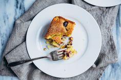 concord grape cornmeal cake // brooklyn supper