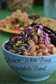 A Few Things I've Accepted to Live My Best Life & Warm White Bean Portobello Bowl