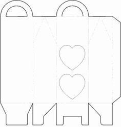 ESPAÇO EDUCAR: Caixa cenoura e molde para imprimir