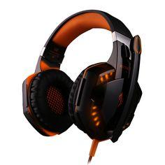 Special headphones. Kotion Each G2000 Gaming Headphone Headset Earphone Headband with Mic