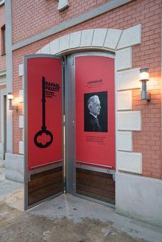 Entrada a l'exposició sobre #Patxot al Palau Robert (febrer-maig 2016). Foto: Miquel Coll http://palaurobert.gencat.cat/ca/exposicions/exposicionsactuals/patxot/