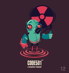 NEW DAY - NEW CHARACTER . CODE501 | Today - 17 characte on Behance