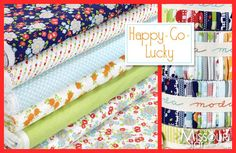 Another cute fabric line! Happy Go Lucky by Bonnie and Camille for Moda