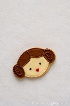 i heart baking!: princess leia cookies