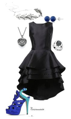 Untitled #138 by carlyamanda58 on Polyvore featuring Deakin & Francis, Lord & Taylor, Jennifer Behr, women's clothing, women's fashion, women, female, woman, misses and juniors