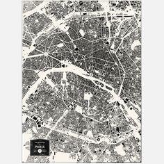 Buildings Of Paris Print design inspiration on Fab.