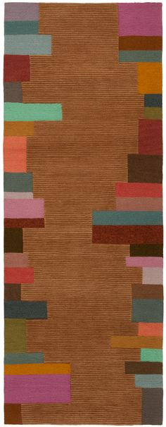 Doug and Gene Meyer rug EDGE STRIPE; seriously, this would be a fantastic addition to any home!