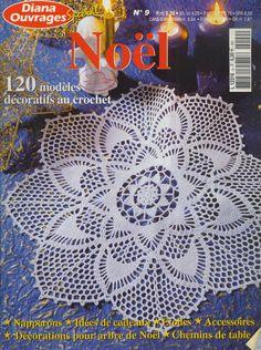 Diana Noel - Sara M - Picasa Web Albums #crochetmagazine / very nice collection of holiday thread crochet pattern