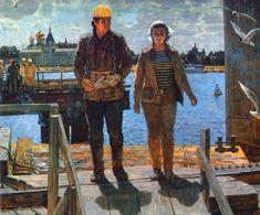 1985 МОСТОСТРОИТЕЛИ, A.Belykh (А.Белых)