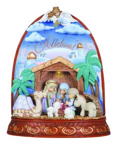 Precious Moments Nativity LED Figurine - Alleluia => More discounts at the link of image : Collectible Figurines for Christmas