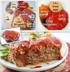 Best Best Meatloaf ~ Replace the crackers with oatmeal and the garlic powder with fresh garlic, and I'll have a GF meatloaf!