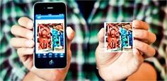 Instagram to your fridge! Turn instagram photos into magnets. Love. DIY in a sense that you take the picture ;)