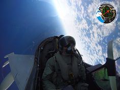 The Aviationist » Stratospheric selfie in a Eurofighter Typhoon