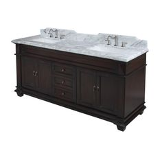 "Found it at Wayfair - Elizabeth 72"" Double Bathroom Vanity Set"