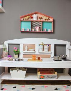 kinderküche selber bauen als projekt für eine diy spielecke | bela ... - Kinder Küche Selber Bauen