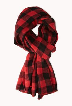 Grunge Plaid Flannel Scarf | FOREVER21 - 1040495465