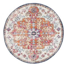 this rug is timeless in more ways than one.  Features:  • Dense: 10mm pile • Style: Transitional  • Weave: Power-Loomed • Material: Polypropylene  • Easy to clean • Made in Turkey