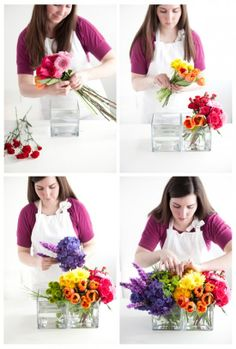 Great how-to for floral arrangements from @Brittany Horton Horton Horton Egbert