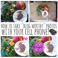 """Tips & Trips On Taking """"Blog-Worthy"""" Photos : With Your Cell Phone!"""