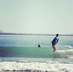 Surfing - Gavin in Noosa #surfing #longboarding