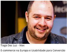 Convidado: Tiago Luz (Vtex). Tema: Ecommerce na Europa. Com Denis Zanini e Elvis Gomes. Clique e Assista!