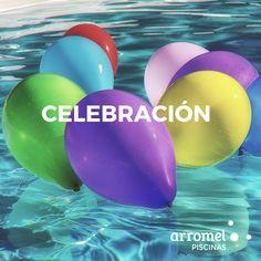 El lugar perfecto para celebrar un momento especial. Una piscina #arromel. 😊