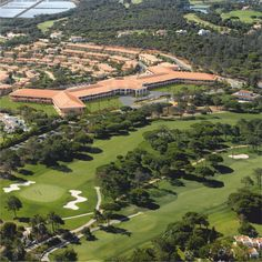 Overview of Monte da Quinta iin Quinta do Lago, Algarve. A luxury private condominium a surrounded from secluded beaches, golf courses and vibrant nature. A paradise for birding as well.
