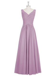 "AZAZIE ALLY. I love it in the ""Wisteria"" color. Ithought it was really nice, because it is simiar in a way to swearheart, and the rouging or pleatin is beautiful in mio. It is really a classy dress"