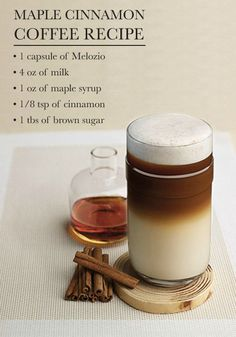Maple Cinnamon Coffee | Sip and savor all of your favorite flavors of fall with this delicious drink recipe. As you brew up this coffee creation, your kitchen will be filled with amazing aromas to put you in a relaxing mood.