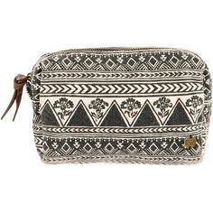 cd60b5dca Billabong Women's Newport Haze Cosmetic Bag (1235 ALL) ❤ liked on Polyvore  featuring beauty