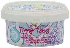 Bomb Cosmetics Fußcreme TIPPY TOES mit Pfefferminzöl: Amazon.de: Parfümerie & Kosmetik