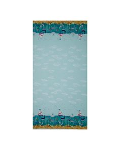 Designed by Lewis and Irene, adventure to the sea with this continuous double border cotton print fabric that is perfect for quilting, apparel and home decor accents. Colors include shades of blue, grey, coral, brown, green, yellow and white.