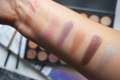 MORPHE 35W Palette swatches row 3