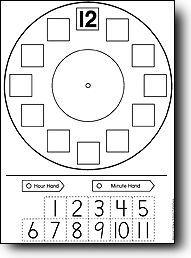 telling time - for our math journals Teaching Time, Teaching Math, Math Classroom, Kindergarten Math, Math Resources, Math Activities, Telling Time Activities, Math Measurement, Second Grade Math