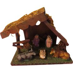 Stepped Nativity set - X-16-3