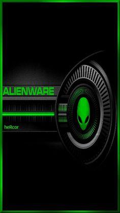 alien ware verde hc