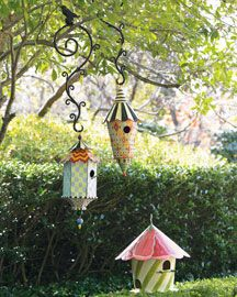 Birdhouses are fab especially when they are #mackenzie-childs