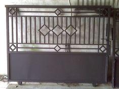 Front Gate Design, Main Gate Design, House Gate Design, Fence Doors, Front Door Entrance, Affordable Bedroom Sets, Window Grill Design, Driveway Gate, 3d Warehouse